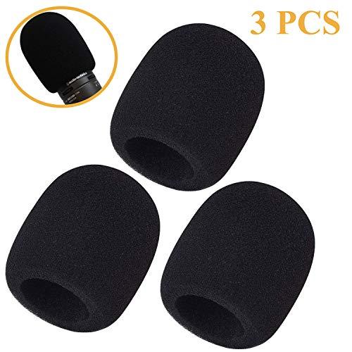 Paquete de 3 parabrisas de espuma - Cubierta de micrófono