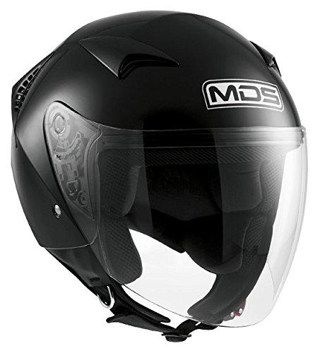 AGV Helmets Casco Jet G240 MDS E2205 Solid, color Negro, talla L