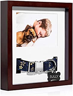 pet collar memorial frame