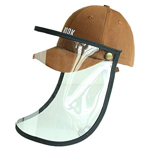 Girls Protective Hat Boys Face Shield Baseball Caps Windproof Dustproof Face Protection (3-7Years Old)