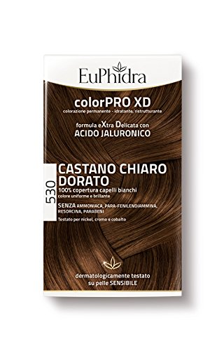 Euphidra Color Pro XD 530 Coloration permanente sans ammoniaque châtain clair doré