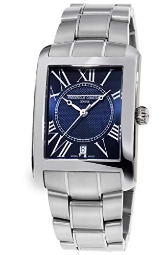 Frederique Constant Classic Carre Quartz Movement Blue Dial Men's Watches FC245MCN4C6B