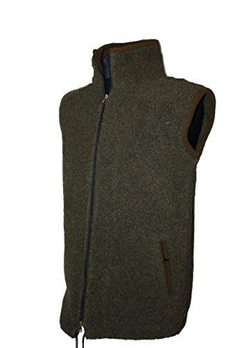 Karbaro Weste aus Schafwolle Jägergrün (XL)