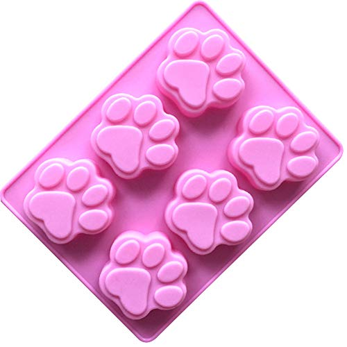 Chocolate Mould Silicone Mould Chocolate Bar Sweet Mould Candy Mould Jelly Mould Cat Paw Shape