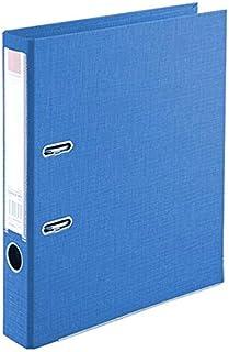 ملف كلاسور بلاستك وجهين فلسكاب لون زرق،  ربطة 10 حبة من كومكس A308