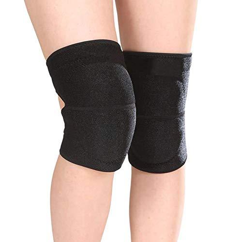 Tanz Knieschoner Einstellbares, weiches, schwammgepolstertes Yoga-Knieschutz-Knieschoner für Damen und Herren - 1 Paar