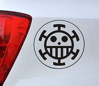 One Piece Anime - Cartoon Decal Vinyl Car Sticker 4.5 × 4.5 In