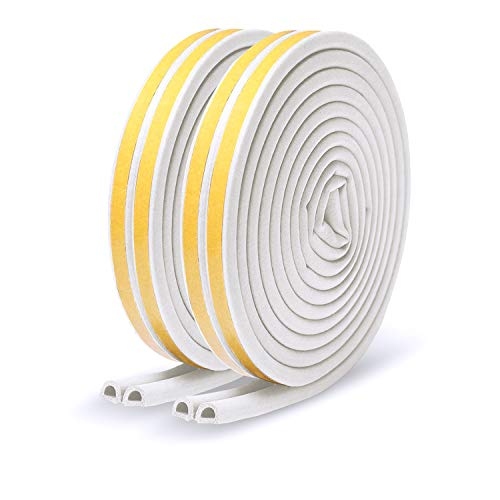 All-Climate D-Type Self-Adhesive Foam Seal Strip 66ft Only $6.95 (Retail $12.99)