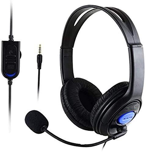 Stereo Wired Gaming Headsets Kopfhörer Mit Mikrofon Für Ps4 / Pc 890 Praktisches Elektronisches Produkt