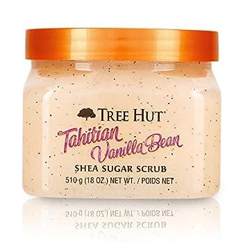 Tree Hut Tahitian Vanilla Bean Shea Sugar Scrub Tahitian Vanilla Bean 18 Oz