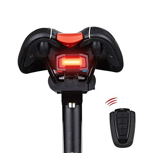 Docooler Inteligentes Anti-robo de la Bicicleta Luz Trasera Alarmante LED de Luz...