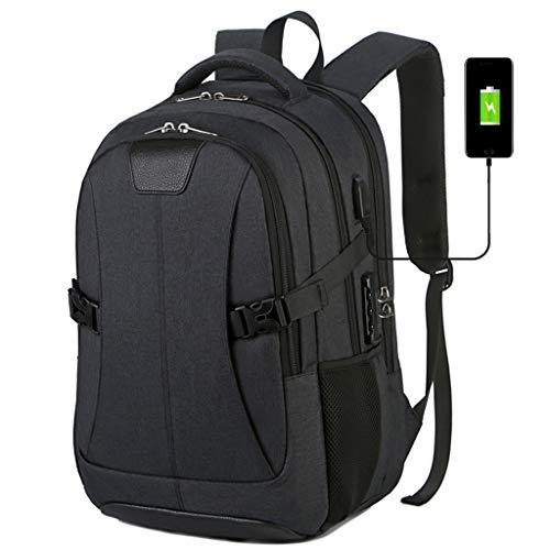 FAPROL Heren Rugzak Laptop Tas Reizen Of Wandelen Opslag Tassen Casual Back Pack Student School Rugzak Met Wachtwoordslot