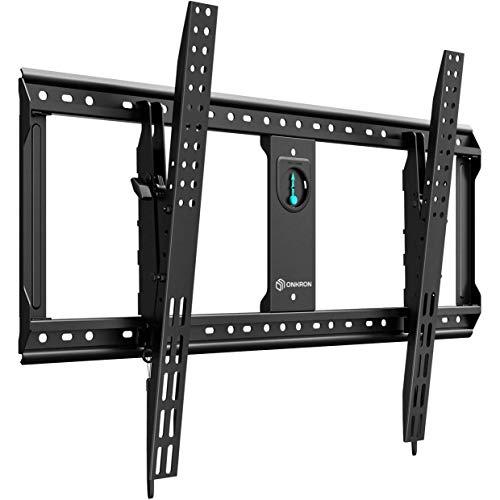 """ONKRON TV Wandhalterung für 65\""""-90\"""" Zoll LCD LED OLED 4K Ultra HD TV Universal Fest Neigbar Fernseherhalterung VESA 200x200 bis 800x600 mm UT9 Schwarz"""