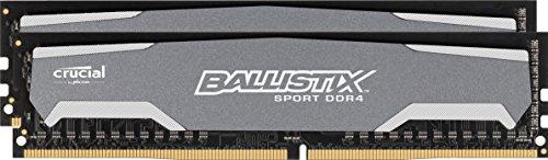Ballistix Sport 16GB Kit (8GBx2) DDR4 2400MHz (PC4-19200) DIMM - BLS2K8G4D240FSA