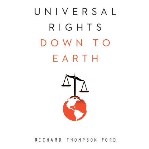Universal Rights Down to Earth audiobook cover art