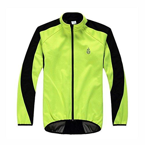 Docooler Herbst und Winter Fleece Trikot Fahrradbekleidung warmen Reitrock Langarm Shirt Wasserdicht