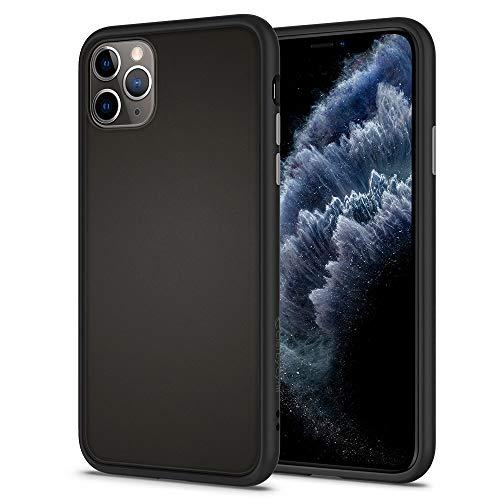 【Ciel by CYRILL】iPhone 11 Pro ケース おしゃれ ストラップホール 耐衝撃 ポーチ付き Color Brick Black カラーブリック ACS00425 (ブラック)