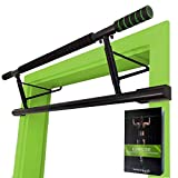 "Magnoos Pull-Up-Bar ""Matador"" - Premium Doorway Chin-Up Bar - No Screws, No Installation Needed - Perfect for Indoor Fitness at Home - 20cm higher in the Doorframe - More Effective Range of Motion"