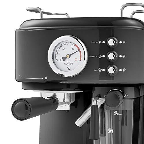 Swan Retro One Touch Espresso Coffee Machine