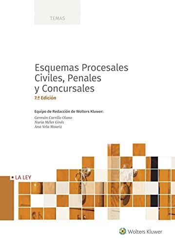 Esquemas procesales civiles, penales y Concursales 7ªed (Temas)