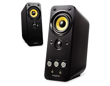 Creative Labs GigaWorks T20 Series II 2.0 Multimedia Speaker System with BasXPort Technology - 51MF1610AA002