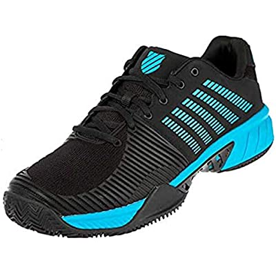 K-Swiss Performance Express Light 2 HB, Zapatillas de Tenis Hombre, Negro (Black/Algiers Blue 010), 42 EU