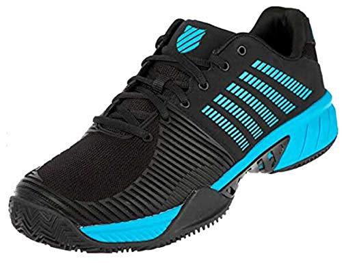 K-Swiss Performance Express Light 2 HB, Zapatillas de Tenis Hombre, Negro (Black/Algiers Blue 010), 42 EU
