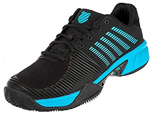 K-Swiss Performance Express Light 2 HB, Zapatillas de Tenis Hombre, Negro (Black/Algiers Blue 010), 45 EU
