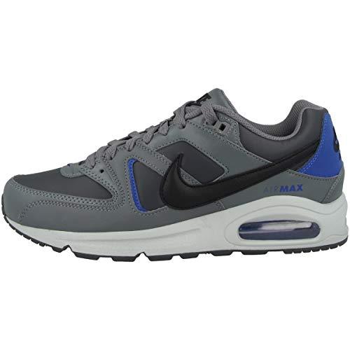 Nike Air Max Command, Scarpa da Corsa Uomo, Grigio Fumo/Nero/Blu Iper, 42.5 EU