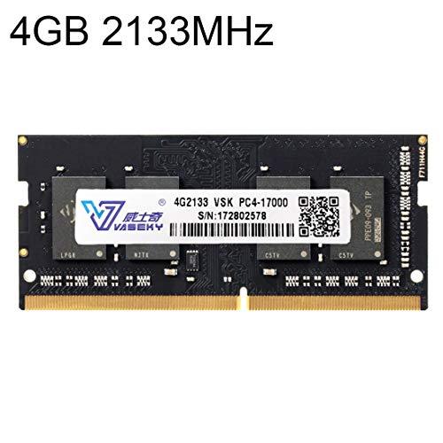 Sevenplusone Licht en mooi, gemakkelijk te dragen. 4 GB 2133 MHz PC4-17000 DDR4 PC Memory RAM Module voor laptop, een verscheidenheid aan testsessies, strikte controle