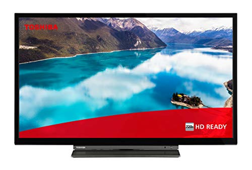 Toshiba 32WL3C63DAX 32 Zoll Fernseher (HD ready, Smart TV inkl. Prime Video / Netflix, Bluetooth, WLAN, Triple Tuner, Works with Alexa)