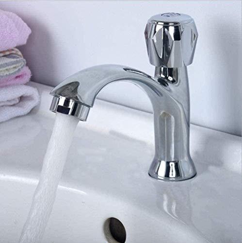 Grifos de cocina, grifo frío, grifo de baño, grifo de baño, mezclador de una sola palanca, grifo de agua fría de un solo orificio, grifo para baño