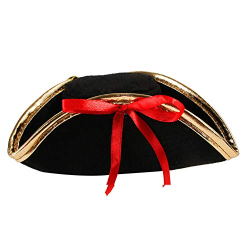 TFWJ Cappellino per Animali Pirata Cosplay Costume Cani e Gatti per Halloween Natale Festa di Pasqua Festival Party