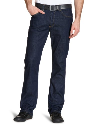 Lee Herren Brooklyn' Straight Jeans, Blau (One Wash 45), W40/L34