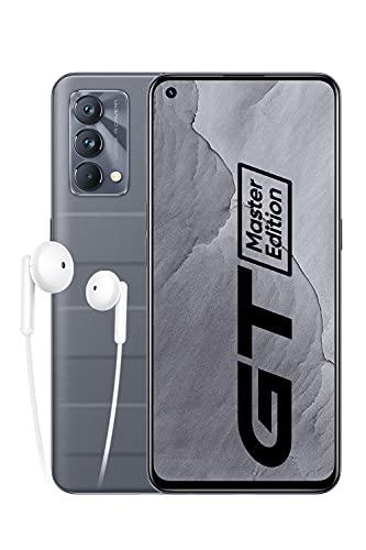 realme GT Master Edition Smartphone Libre, Procesador Qualcomm Snapdragon 778G 5G, Pantalla completa AMOLED Samsung de 120 Hz, Carga SuperDart de 65W, Cámara principal de 64MP, 6+128GB, Gris viajero
