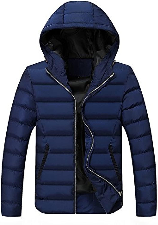 Verdickung warme Jacke männer Mode Verdickung warmen Mantel C, 4XL