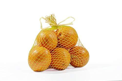 400pcs Sacchetti in Rete in Polipropilene per Frutta, Verdura e Alimenti. Dimensioni 12x40x25cm. Portata 4/5kg. Made in Italy. (Giallo)