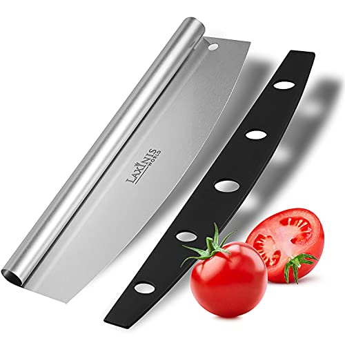 """Pizza Cutter - 14"""" Pizza Cutter, Sharp Stainless Steel Pizza Slicer Knife Blade"""