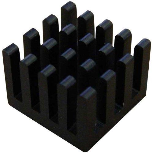 The Pi Hut Heatsink for Raspberry Pi - Black