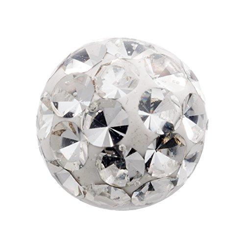 Elemento Swarovski de 6mm Epoxy con una esfera revestida de