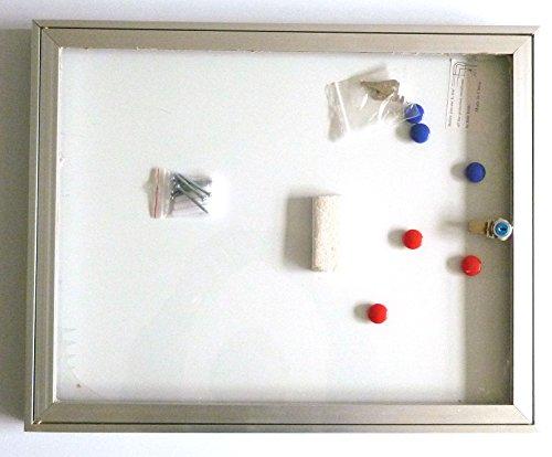 Schaukasten Infokasten mit Klapptür für außen 2x DIN A4