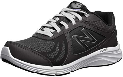 New Balance Women's 496 V3 Walking Shoe, Black/Black, 8.5 M US