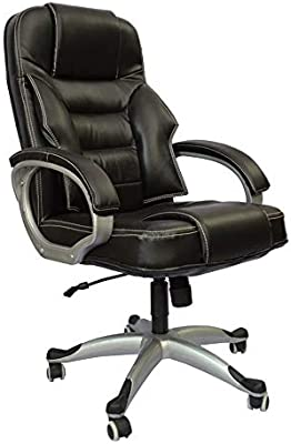 Mezonite High Back Black Leatherette Office Executive Chair_Limited Executive Director Chair