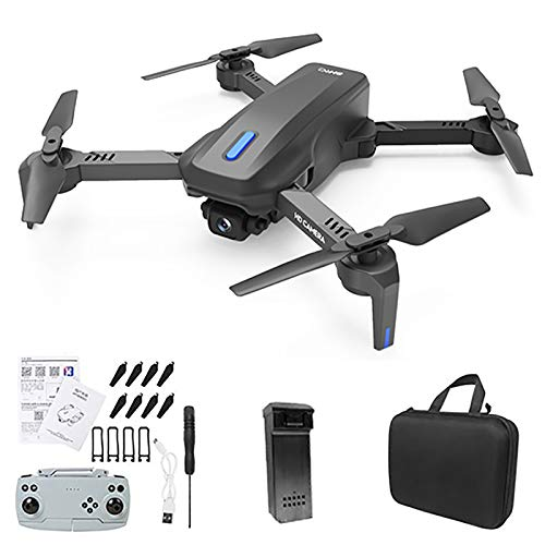 Kajiali H14 GPS Drone with 4K HD Dual Camera for Adults, Quadcopter with 2.4G/5G WiFi FPV Live Video, 3D Flips, One-Key Rutrn, Headless Mode, Speed Control, 30 Minutes Flight Time