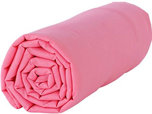 Drap en coton Baby Fox 118x180cm - Rose
