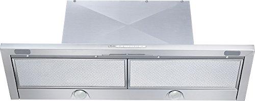 Miele DA3496 Flachschirmhaube / 89,5 cm / edelstahl / Leistungsstark - 550 m³/h in der Intensivstufe / flacher Wrasenschirm in 90 cm Breite