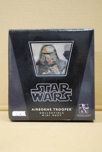 Star Wars Airborn Trooper Collectible Mini Bust from Gentle Giant Studios image