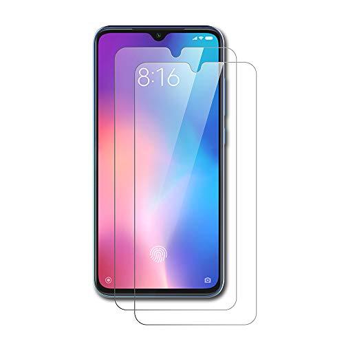 AICEK [2 Stück] Xiaomi Mi 9 Schutzfolie, Tempered Glass Bildschirmschutzfolie für Xiaomi 9 Schutzglas Screen Protector Gehärtetem Glas Bildschirmschutz Xiaomi Mi 9 Panzerglas (6,39 Zoll)