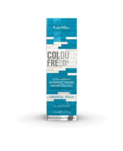 Colour-Freedom Ultra-Vibrant Tropical Aqua XL 150 ml auswaschbare Haartönung