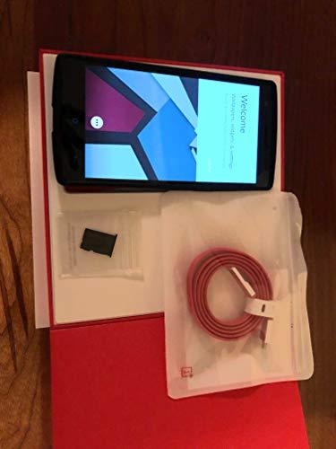 OnePlus One A0001 4G LTE 3GB-RAM 64GB-ROM 5.5 Inch International Version - No Warranty - Sandstone Black